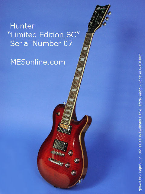 Hunter SC Electric Guitar Full Front View